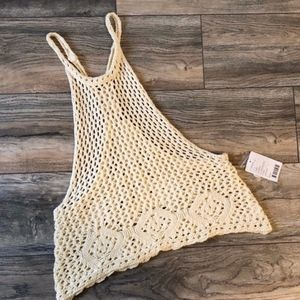 Starring at the Stars UO NWT Large Crochet Tank